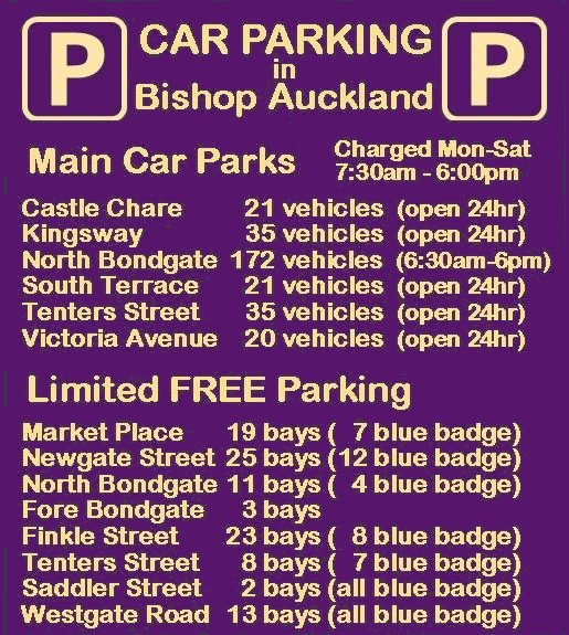 Bishop Auckland Town Parking